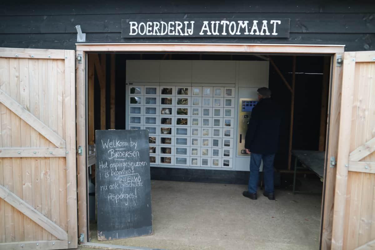 Uitbreiding boerderijautomaat