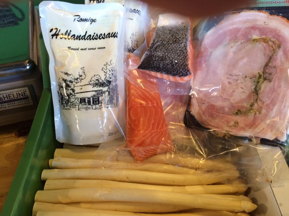 Verkoop witte asperges gestart!