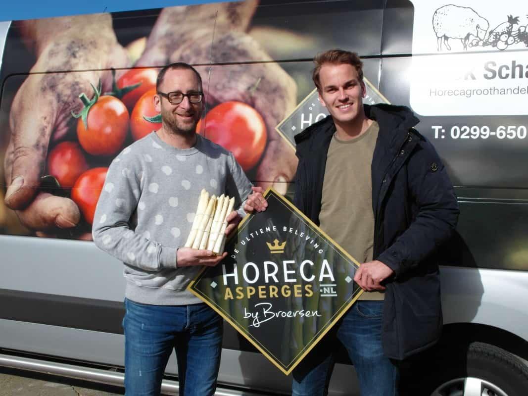 Horeca Asperges by Broersen in heel Noord-Holland geleverd door Dick Schaap