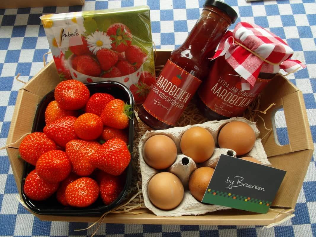 Moederdag pakketten verkrijgbaar in de boerderijwinkel