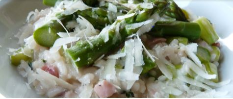 Risotto met asperges